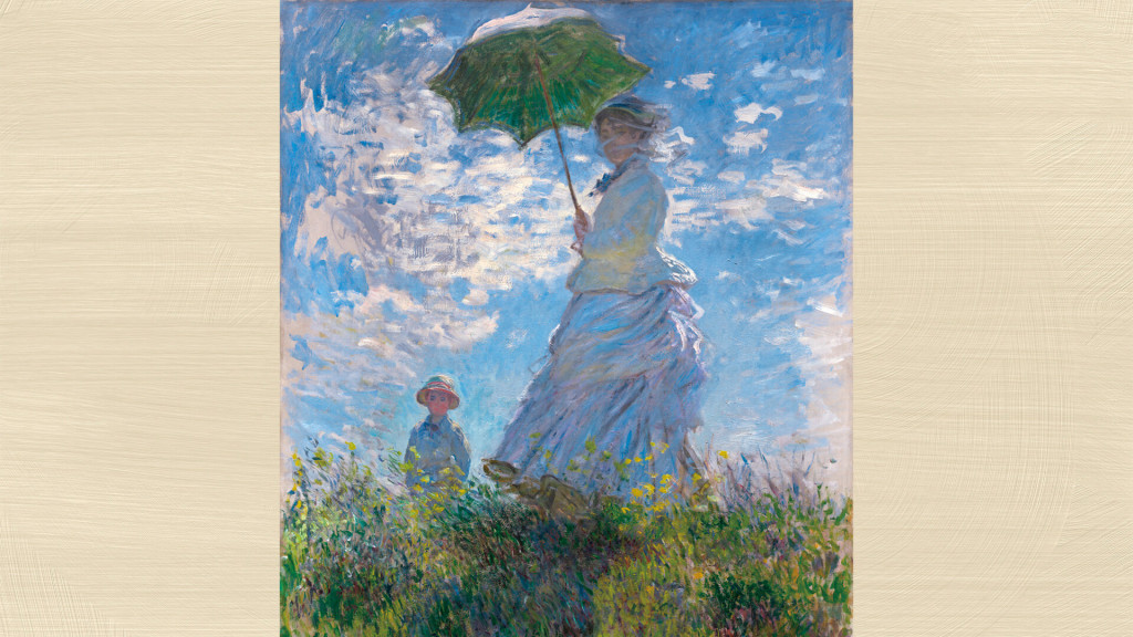 Claude_Monet Woman with a Parasol