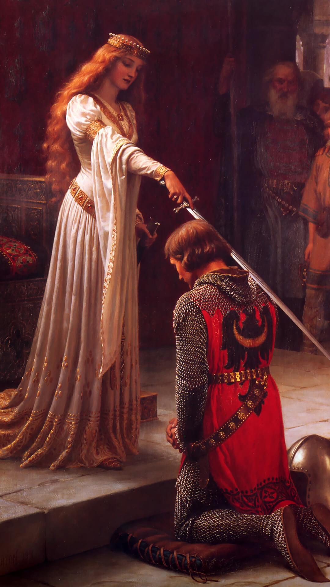 Edmund blair leighton accolade_1080x1920