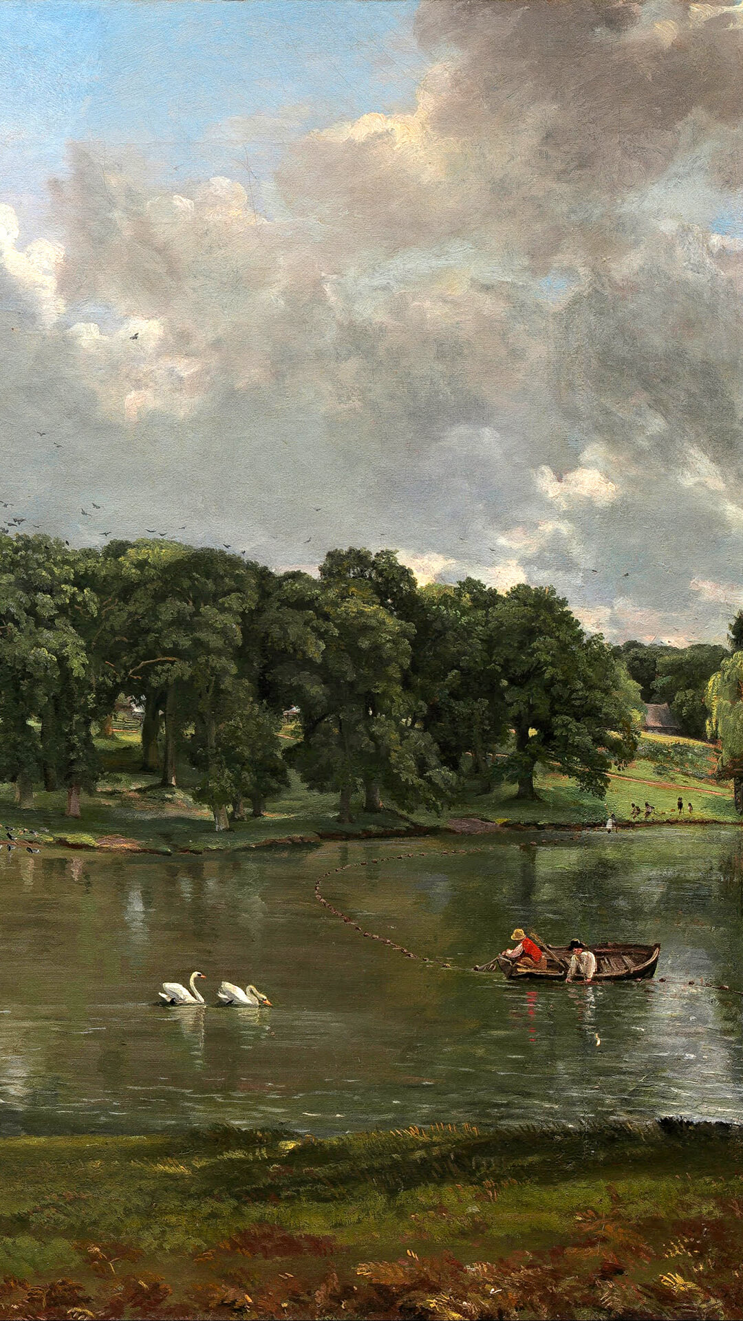 John Constable-Wivenhoe Park Essex_1080x1920