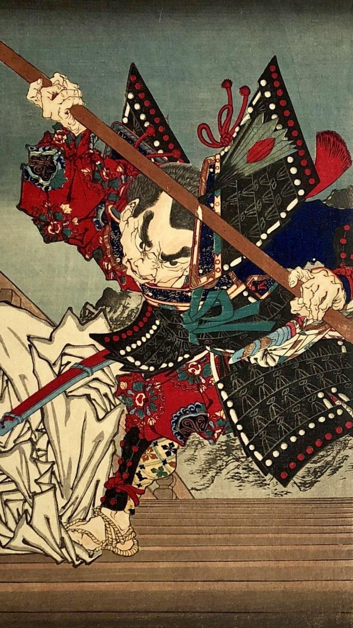 tsukioka yoshitoshi -yoshitune ki gojo oohashi no zu 1080x1920 2