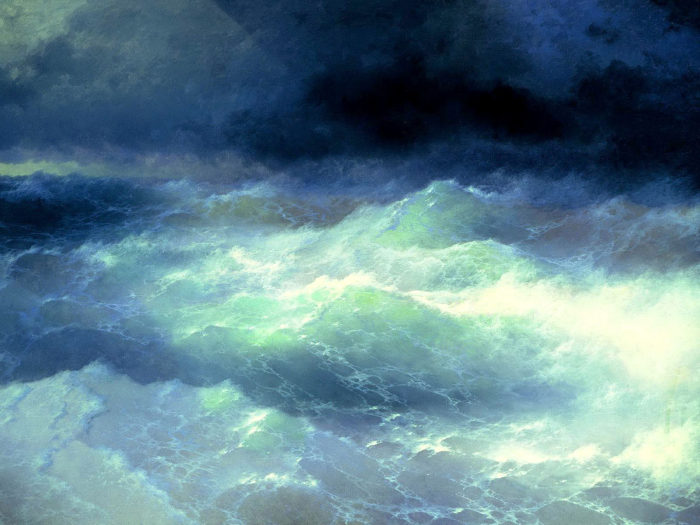 Ivan Aivazovsky - Between the Waves 2732x2048