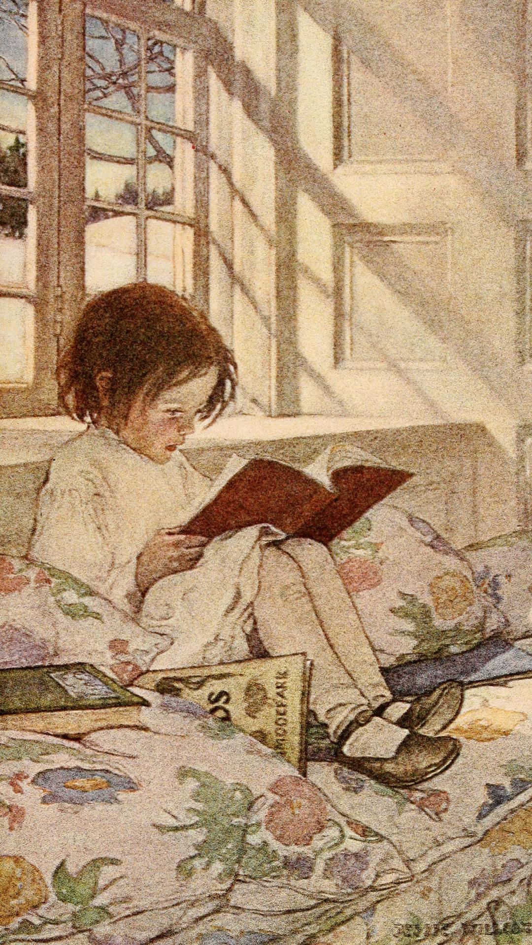Jessie Willcox Smith-Picture Books in Winter_1080x1920