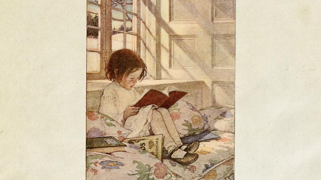 Jessie Willcox Smith-Picture Books in Winter_1920x1080