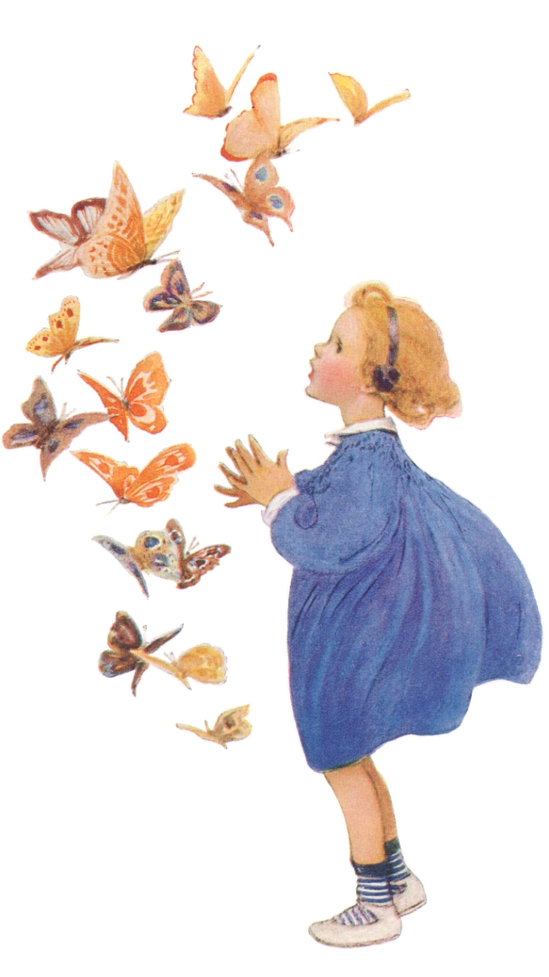 Jessie Willcox Smith butterfly_1080x1920