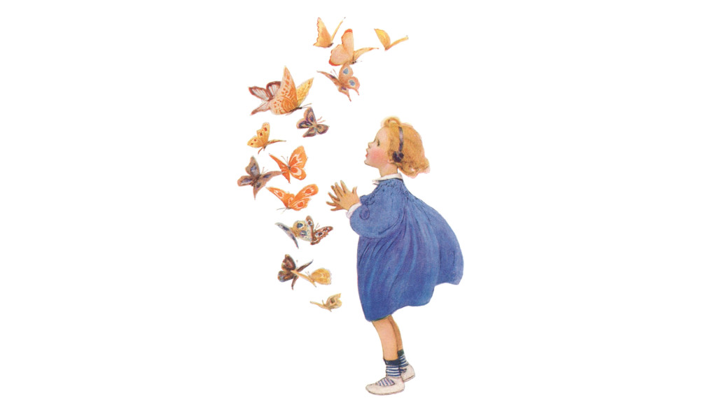Jessie Willcox Smith butterfly_1920x1080