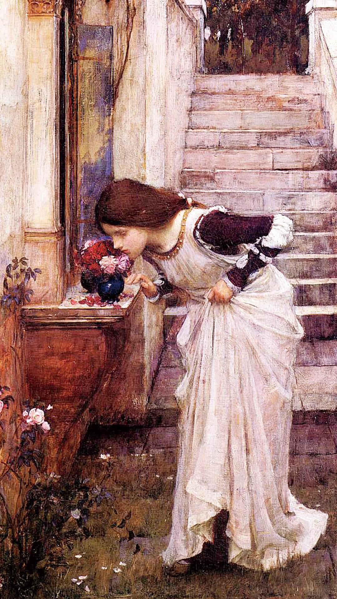 John William Waterhouse-The Shrine_1080x1920