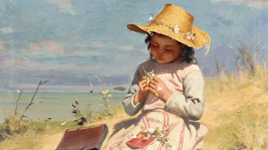 Paul Peel-The Young Botanist_1920x1080