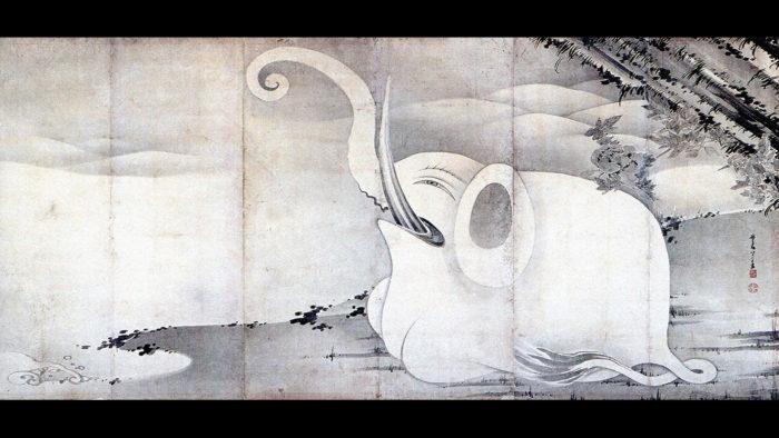 ito jyakuchu - zou to kujira zubyoubu zou 1920x1080 2