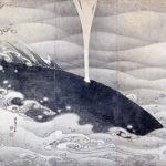 伊藤若冲 / 象と鯨図屏風(鯨)