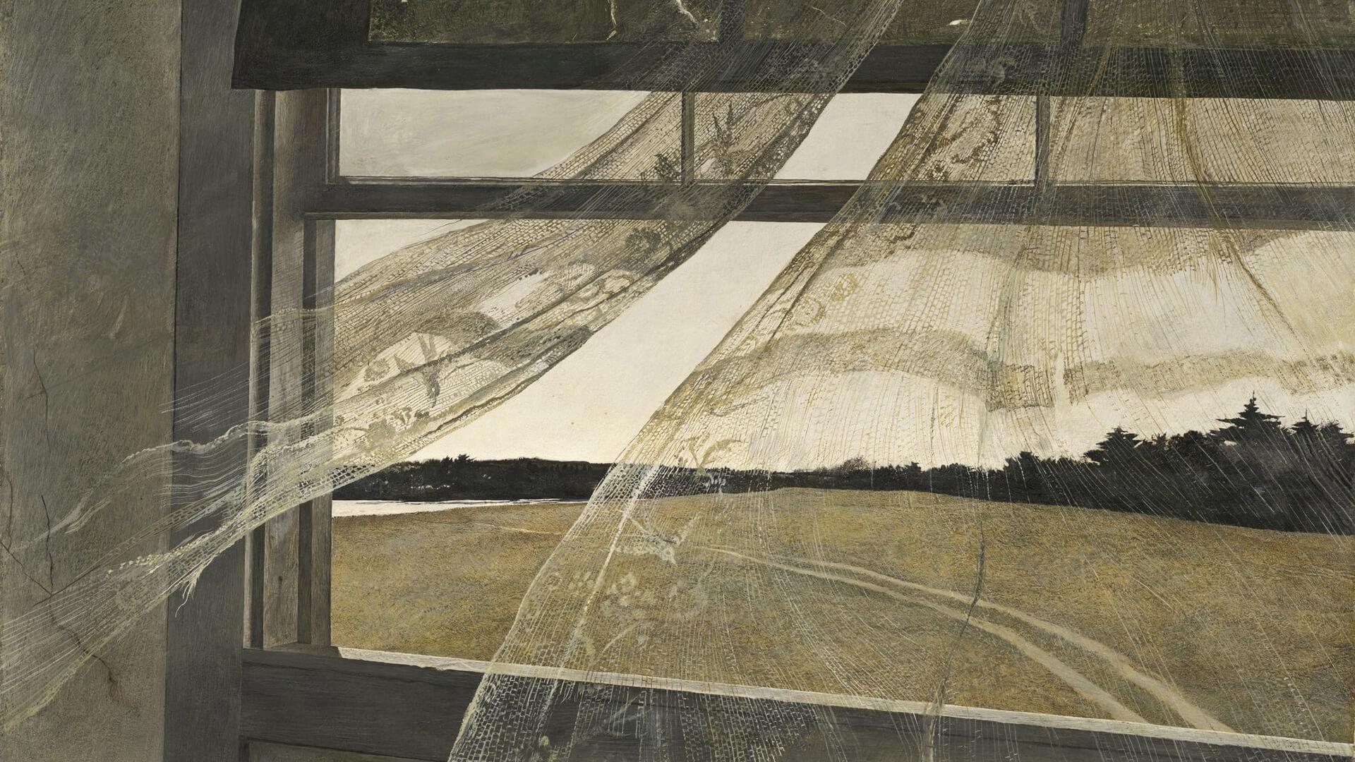 アンドリュー・ワイエス Andrew Wyeth's / Wind from the Sea