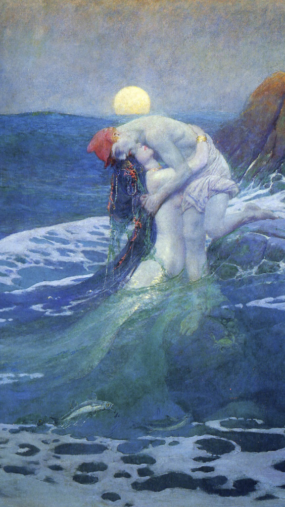 Howard Pyle-The mermaid_1080x1920