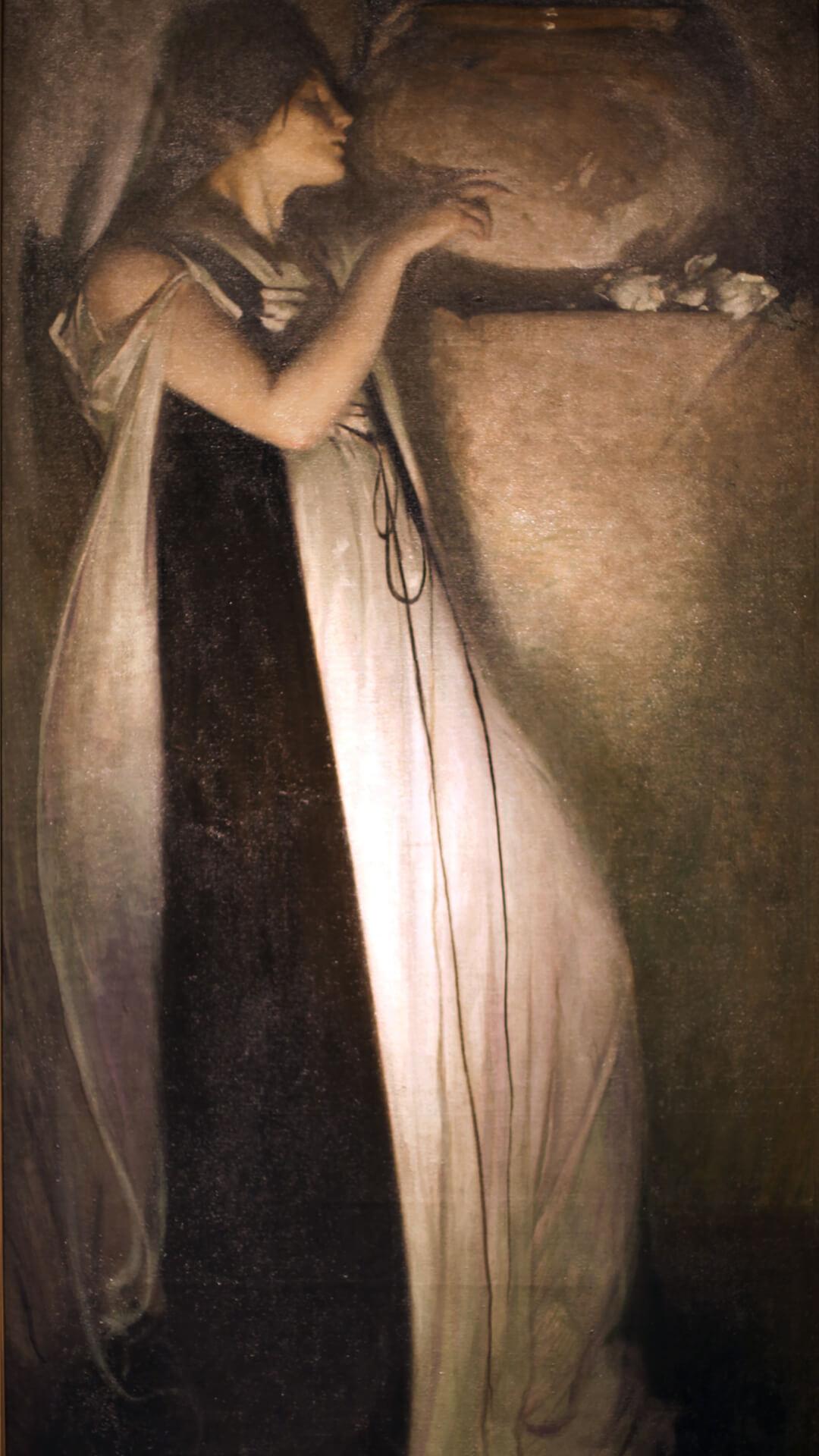 John White Alexander-Isabella and the Pot of Basil_1080x1920