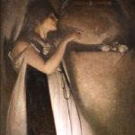 ジョン・ホワイト・アレクサンダー / Isabella and the Pot of Basil