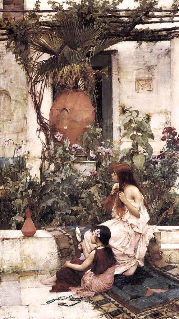 John_William_Waterhouse-At_Capri_1080x1920