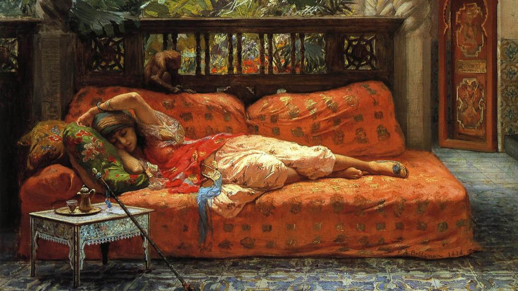 frederick_arthur_bridgman-the_siesta_1920x1080