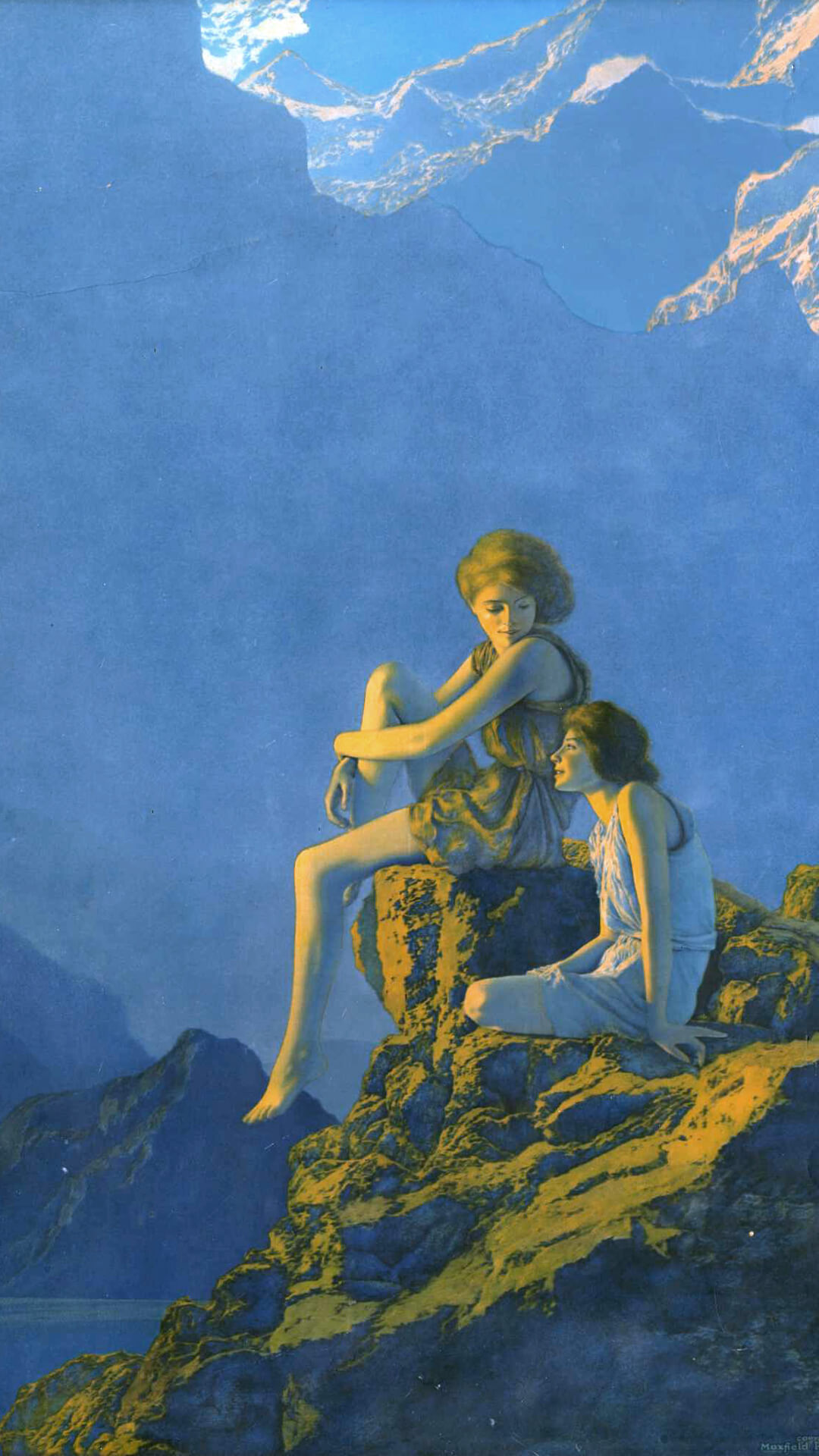 maxfield parrish-Contentment_1080x1920