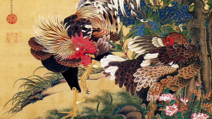 Ito Jakuchu AjisaiSoukei zu 1920x1080