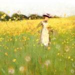 ウィリアム・ニコルソン / The Dandelion Field