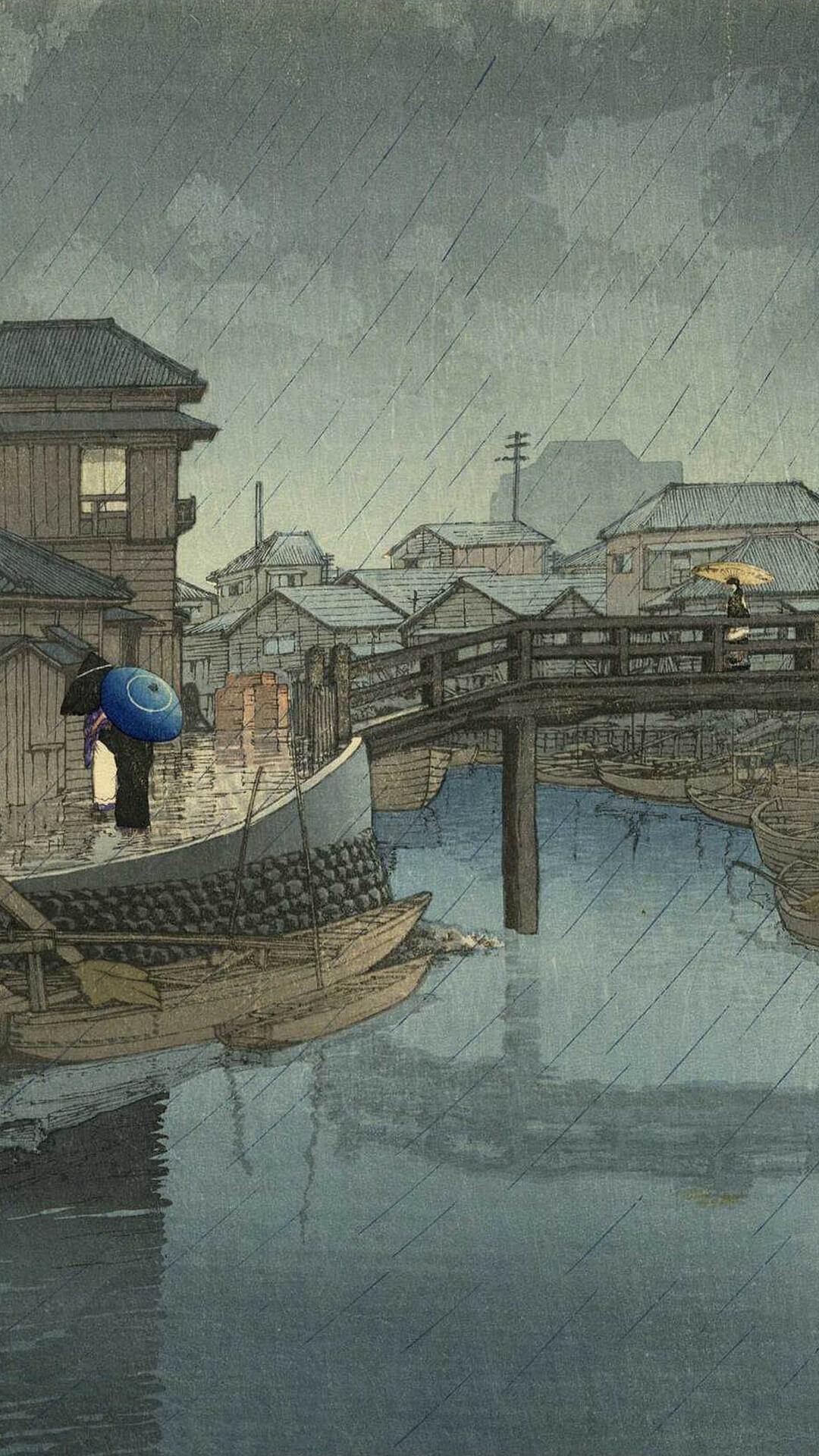 川瀬巴水 kawase hasui / 東海道風景選集 品川