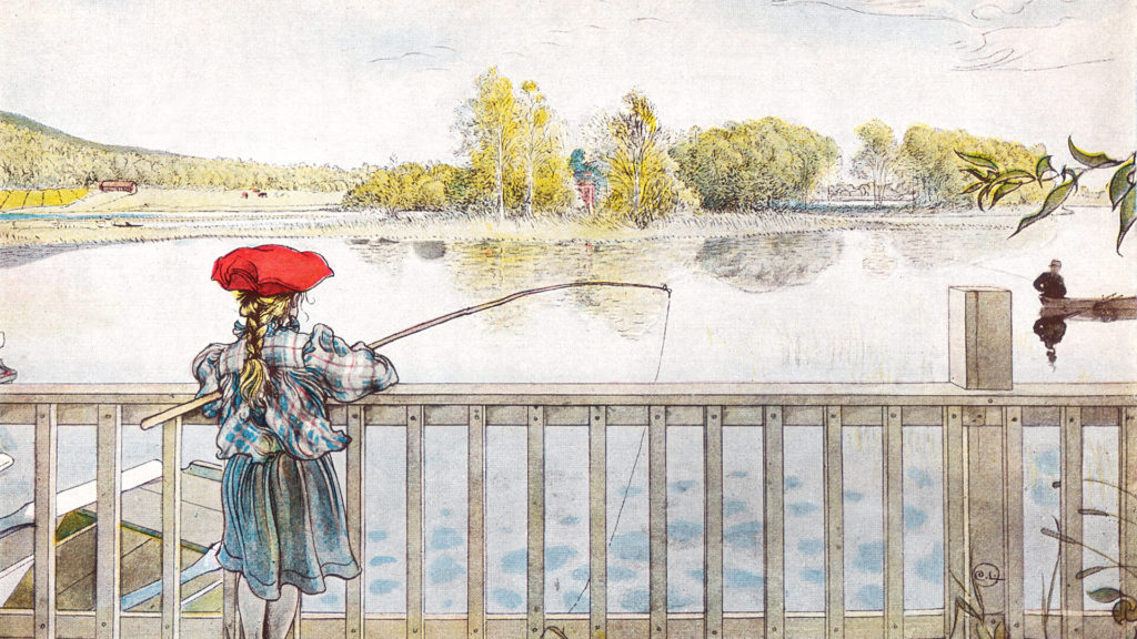 Carl Larsson-Lisbeth fishing_1920x1080