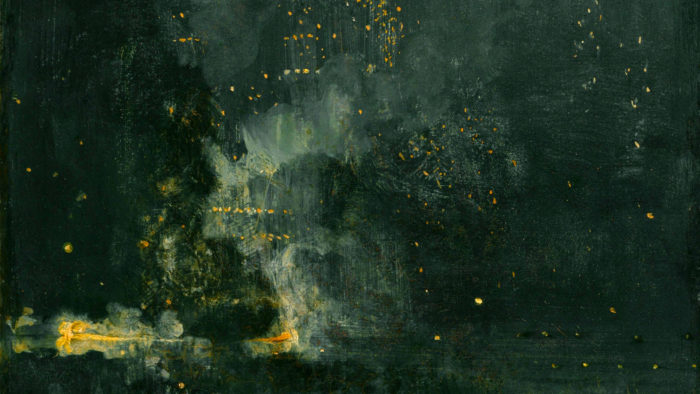 james abbott mcneill whistler - nocturne in black and gold 1920x1080