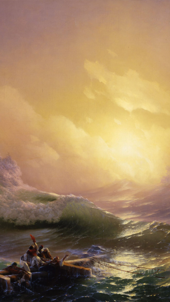 Ivan Aivazovsky - The Ninth Wave 1080x1920