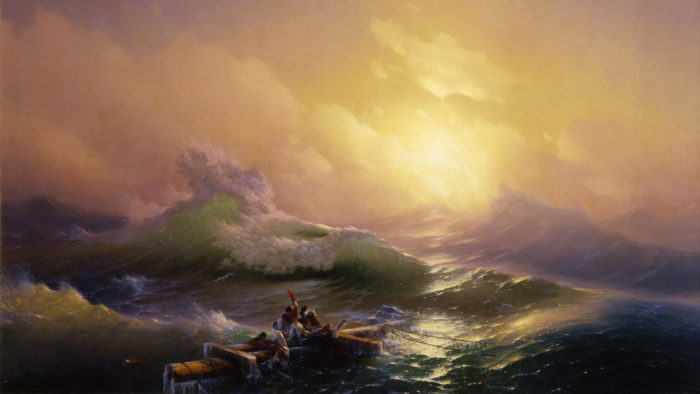 Ivan Aivazovsky - The Ninth Wave 2560x1440