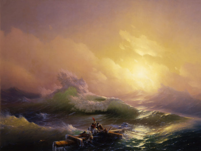 Ivan Aivazovsky - The Ninth Wave 2732x2048