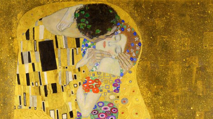 Gustav クリムト キス Klimt - The Kiss 1920x1080