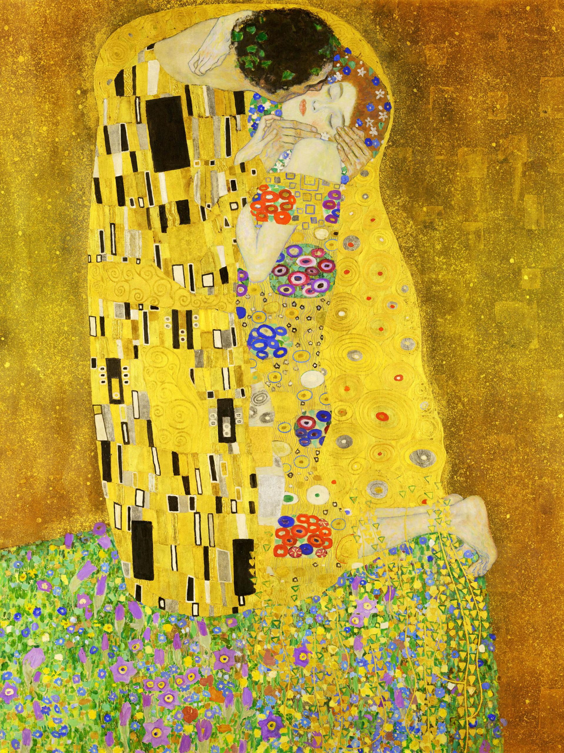 Gustav Klimt - The Kiss 2048x2732