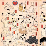 歌川国芳 / 猫飼好五十三疋