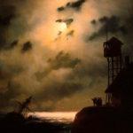 イヴァン・アイヴァゾフスキー / Moonlit Seascape With Shipwreck