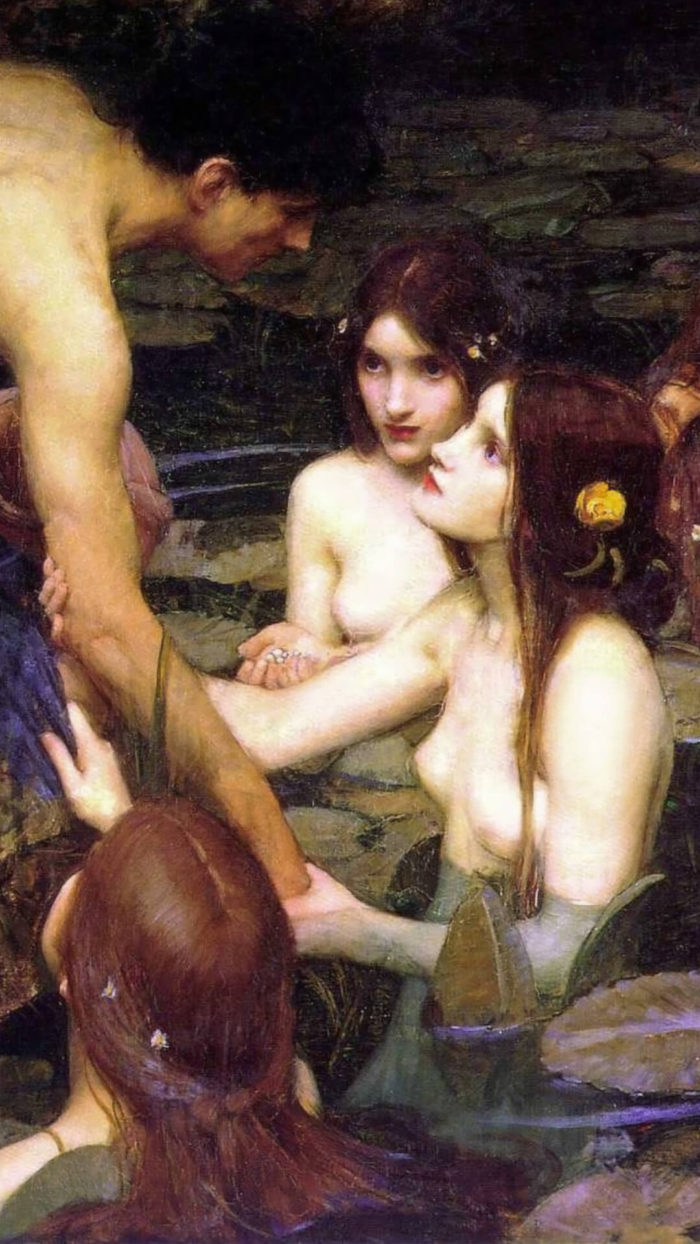 John William Waterhouse_Hylas and the Nymphs_1080x1920