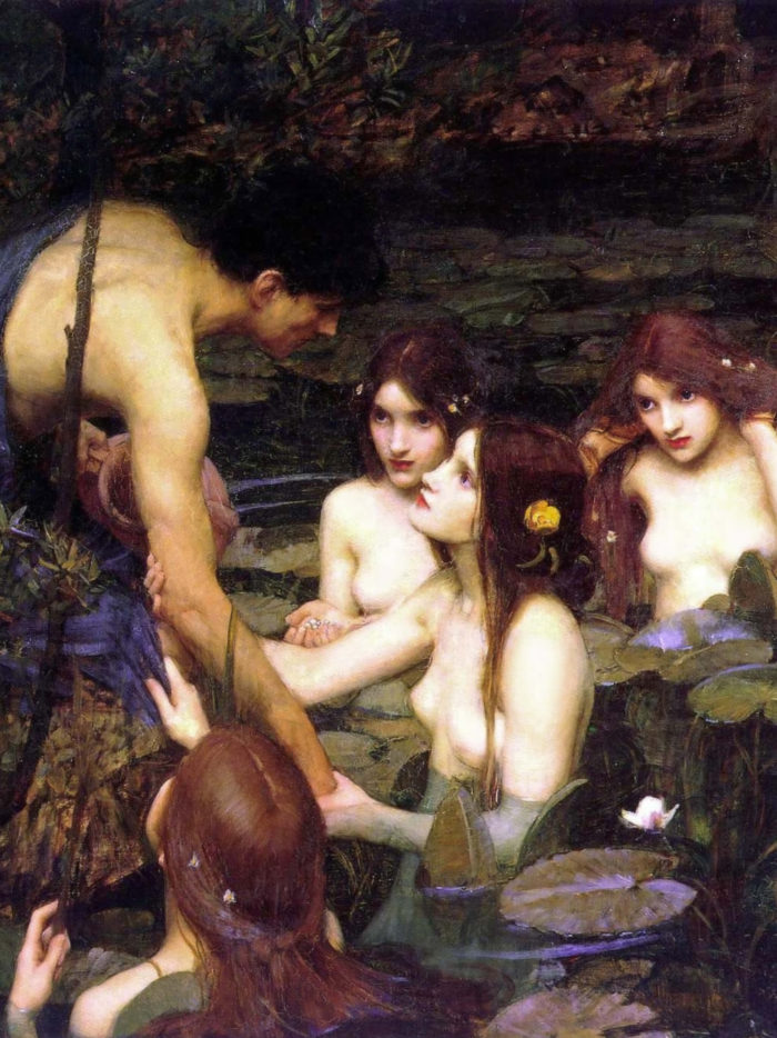 John William Waterhouse_Hylas and the Nymphs_2048x2732