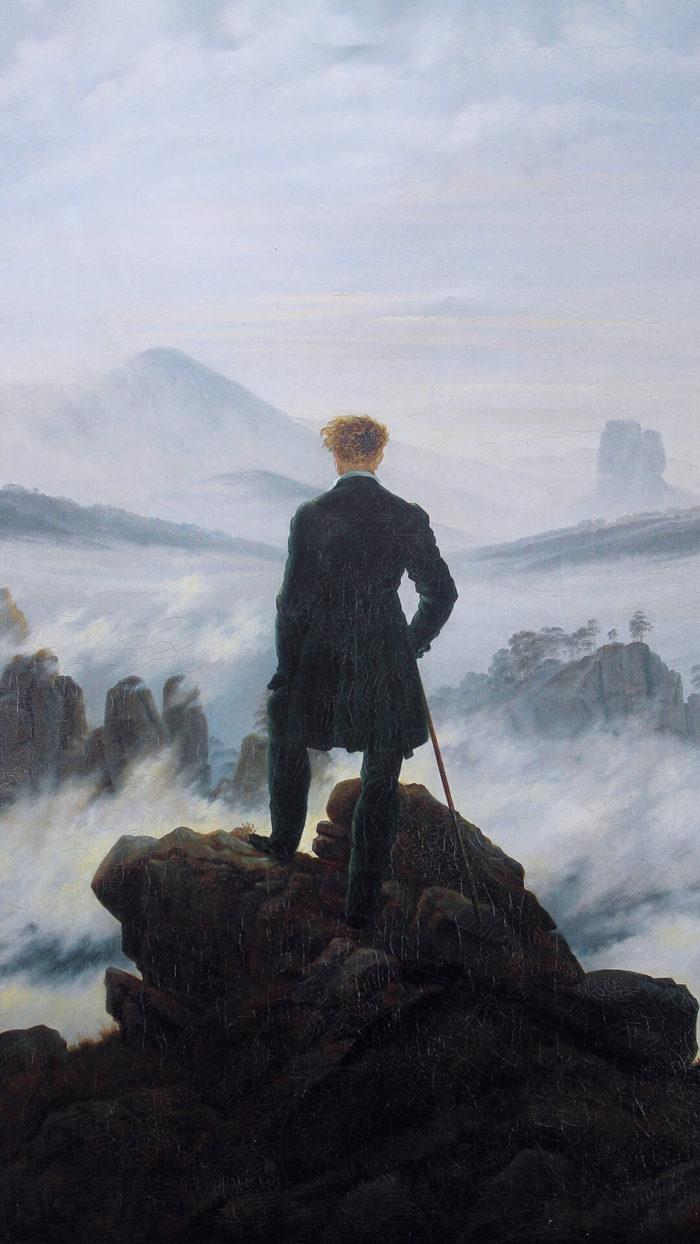 カスパー・ダーヴィト・フリードリヒ Caspar David Friedrich / Wanderer above the Sea of Fog