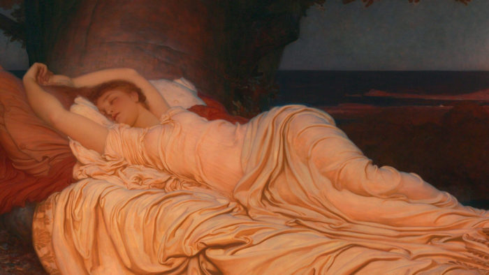 フレデリック・レイトン Frederic Leighton-Cymon and Iphigenia2_1920x1080