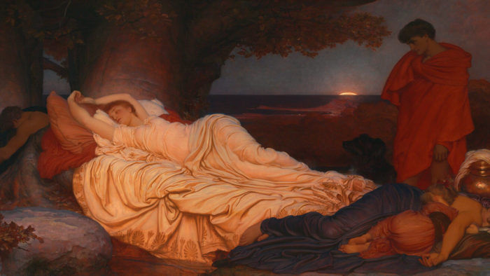 フレデリック・レイトンFrederic Leighton-Cymon and Iphigenia