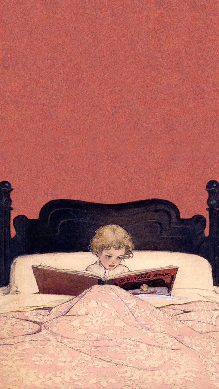 ジェシー・ウィルコックス・スミス Jessie Willcox Smith / The Bedtime Book
