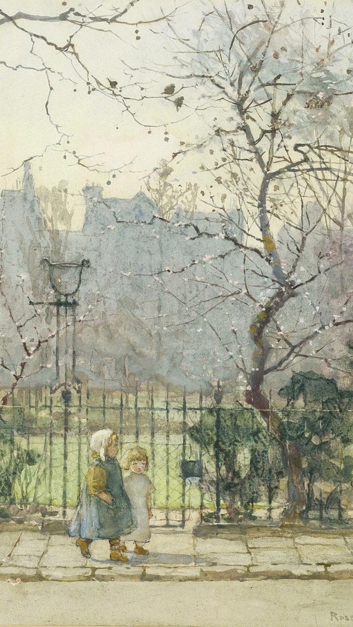 ローズ・メイナード・バートン Rose Maynard Barton Kensington Gardens