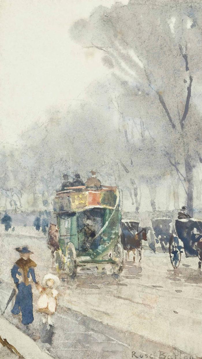 ローズ・メイナード・バートン Rose Maynard Barton / Park Lane with omnibus