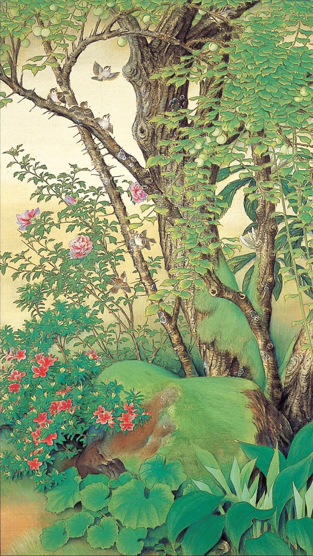 榊原紫峰 Sakakibara Shiho / 青梅 右