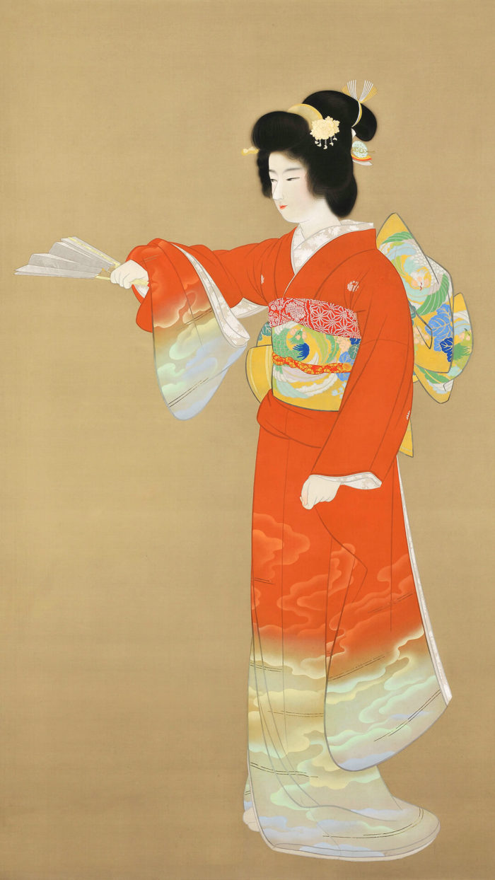 上村松園 Uemura Shoen / 序の舞