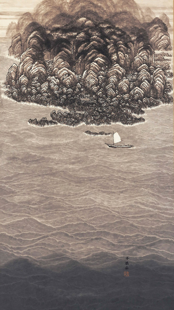 不染鉄 fusen tetsu / 南海之図