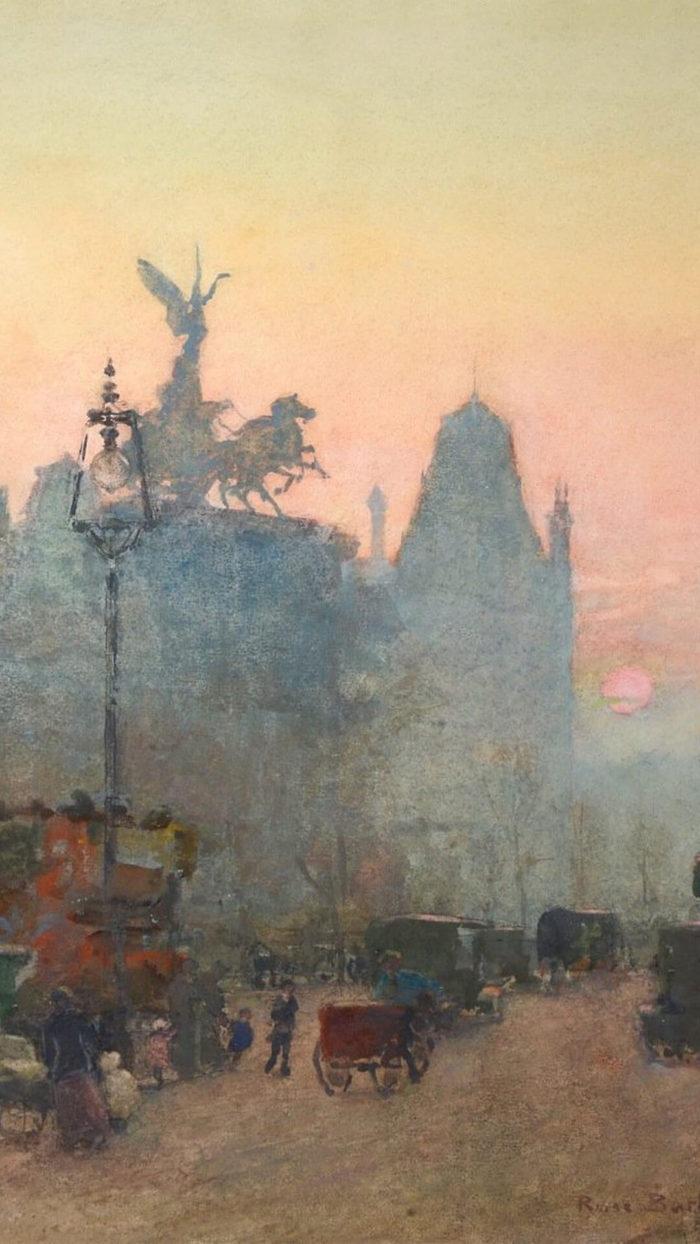 ローズ・メイナード・バートン rose maynard barton / London in the Rain