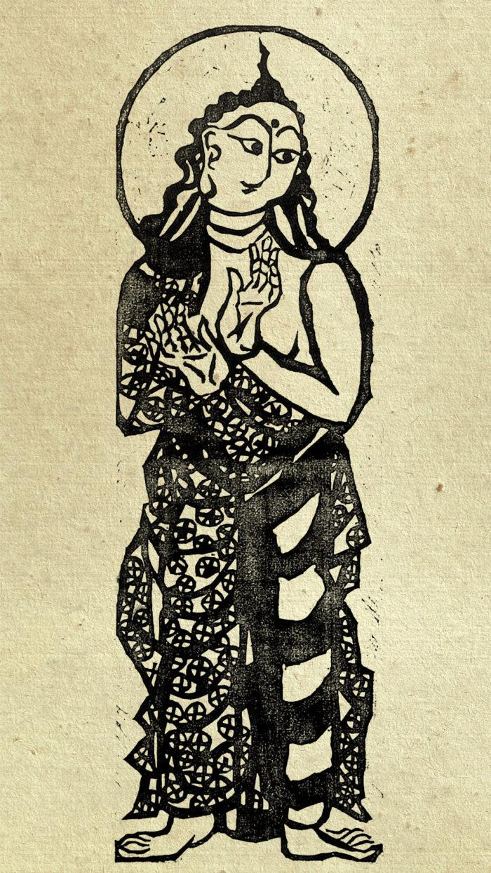 01-Munakata Shiko-Fugen bosatsu no saku_1080x1920