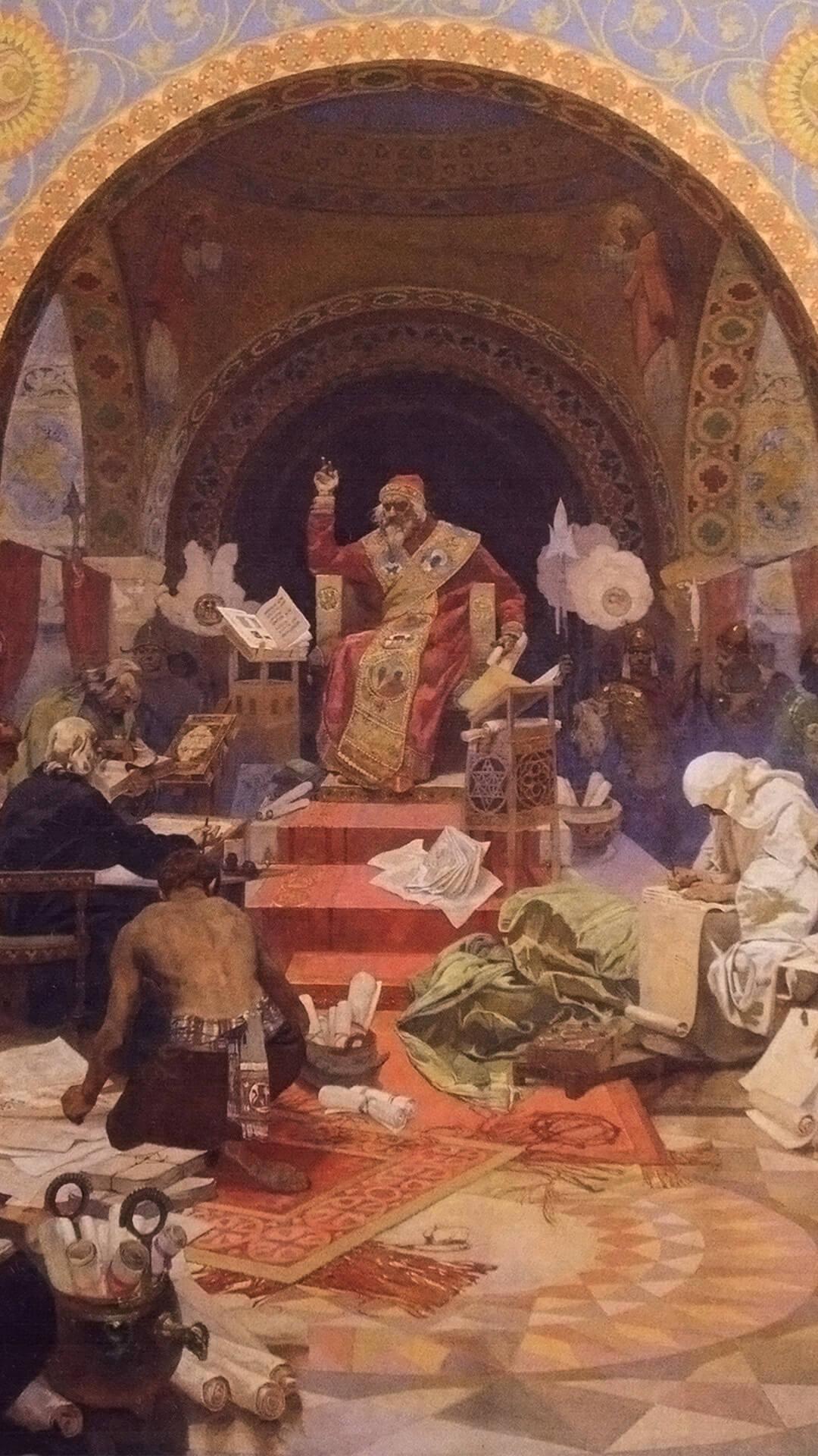 Alfons Mucha-Car Simeon Bulharský_d1_1080x1920
