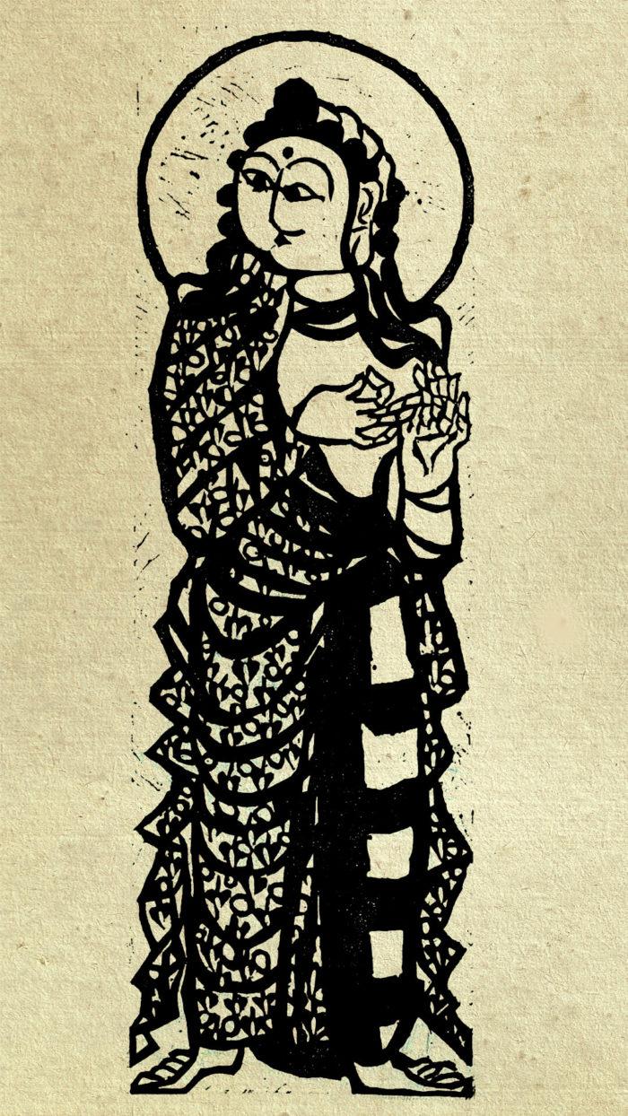 12-Munakata Shiko-Fugen Monju bosatsu no saku_1080x1920