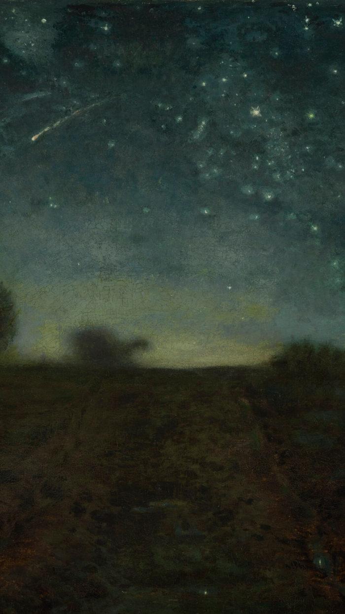 Jean-François Millet-Starry Night_1080x1920