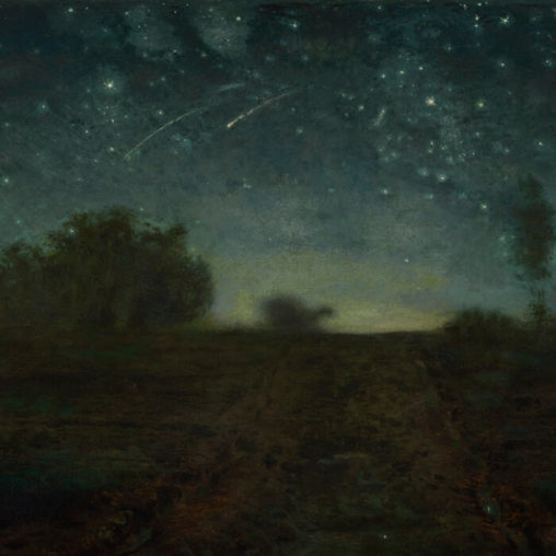 Jean-François Millet-Starry Night_d