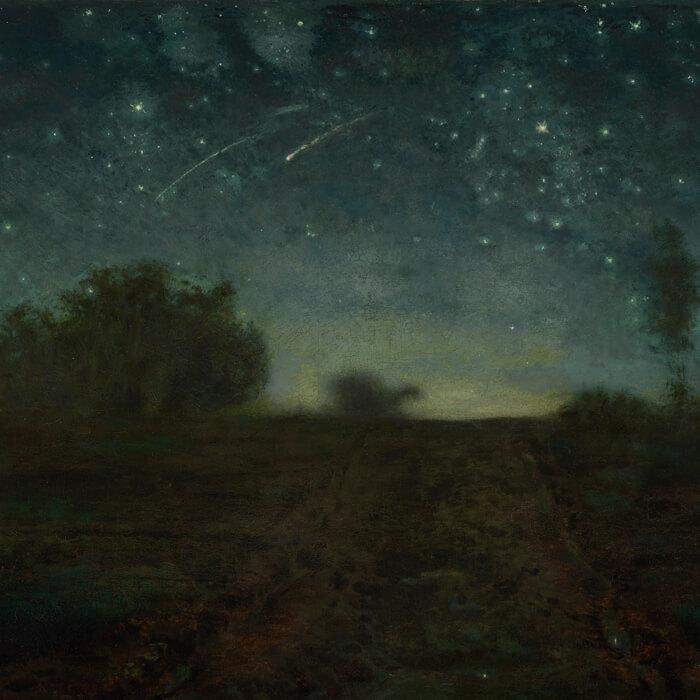 Jean-François Millet-Starry Night_d